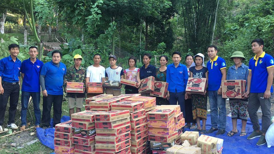Tuổi trẻ trường Đại học Hồng Đức chung tay khắc phục thiệt hại sau mưa lũ tại các huyện miền núi tỉnh Thanh Hóa