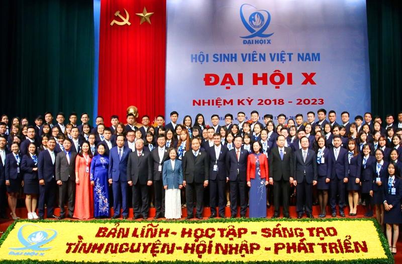 Đoàn Đại biểu Hội Sinh viên trường Đại học Hồng Đức tham dự Đại hội đại biểu toàn quốc Hội sinh viên Việt Nam lần thứ X nhiệm kỳ 2018 - 2023