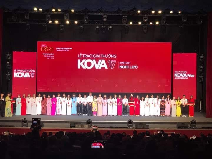 Sinh viên Trường Đại học Hồng Đức vinh dự nhận học bổng KOVA năm 2019