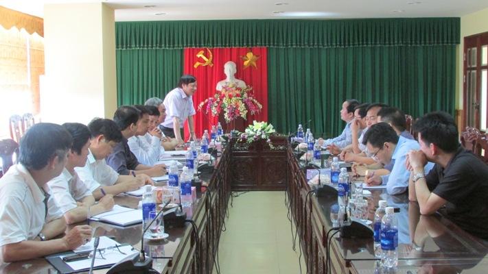 Hiệp hội các trường đại học cao đẳng Việt Nam đến thăm và làm việc với Trường Đại học Hồng Đức