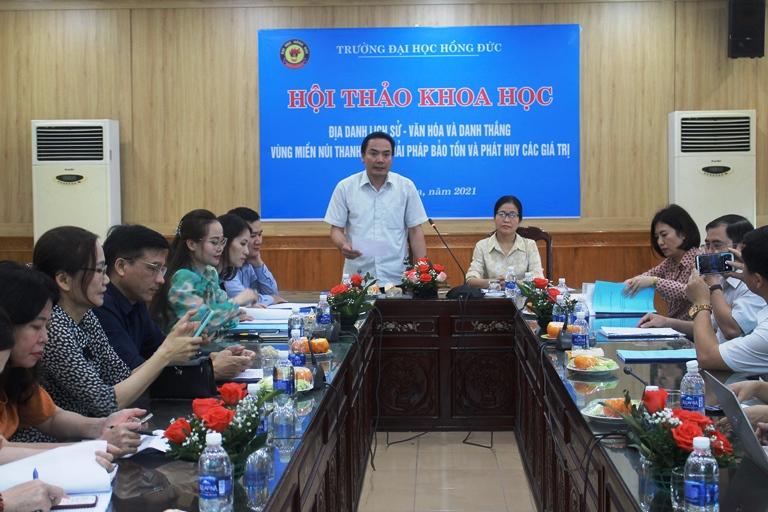 Hội thảo khoa học: Địa danh lịch sử - văn hoá và danh thắng vùng miền núi Thanh Hoá – Giải pháp bảo tồn và phát huy các giá trị