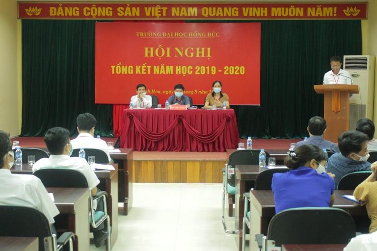 Hội nghị tổng kết năm học 2019 - 2020