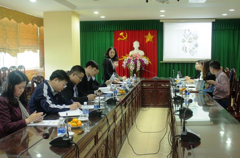Nhà trường làm việc với Công ty cổ phần quốc tế TOPG Việt Nam